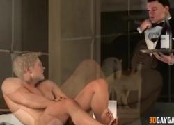 '3D гей-адвокат трахнул в дикой групповухе по BBC'