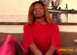 Африканец трахается трудно на кастинге