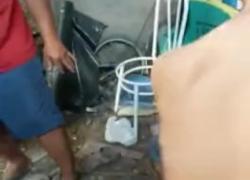 Бездомный мужчина трахается с нищим