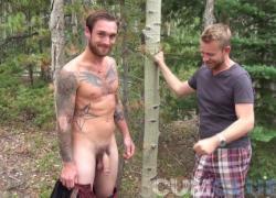 Biggus Dickus повесил гвоздик Итан когда-либо принимает ню поход Колорадо горы