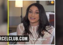 Брюнетка порнозвезда Avi Любовь приветствовать нас в Лос-Анджелесе Dorcel интервью