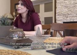 DEBT4k Безумный фетиш-секс с беременной дамой, у которой много долгов