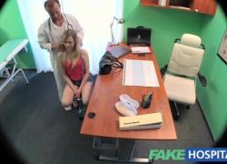 FakeHospital Сексуальная стройная блондинка хочет работу