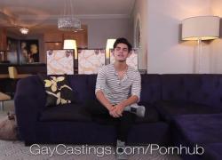 GayCastings кастинг агент трахает латинского новичка мудак