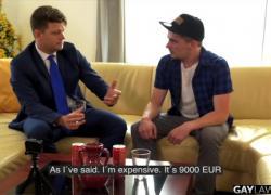 Gaylawoffice Tricked Rhys Cory платит юристу с девственной попкой