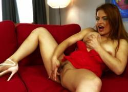 Горячая польская рыжая девушка msturbates