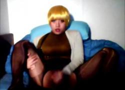 Горячий китайский CD Sissy Masturbation Cam