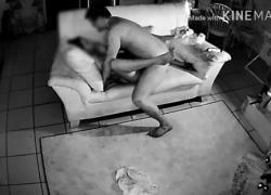 Хороший секс с подругой моей мамы и шпионская камера поймали все это
