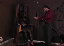 Kaiya Rose - средний мир, поклонение чернокожей заднице и поклонение ступням