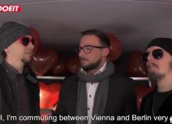 LETSDOEIT День Святого Валентина на автобусе, Трахни с горячим немецким