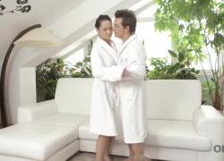OLD4K Милая дама знает, как сделать счастливым своего старшего партнера