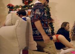 Рождественский семейный секс myfamilypies