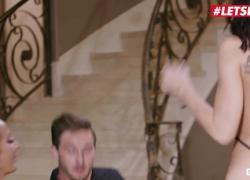 'Scam Angels Young QB Star трахнул Aidra Fox amp Richelle Ryan LETSDOEIT'