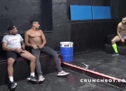 Секс-дно с двойным кримпаем от 2 xxl членов