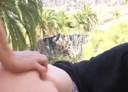 Сексуальная мусульманка Елена Вега Гран трахается в джунглях