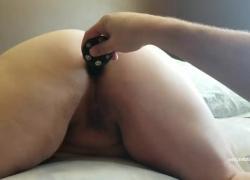 'Сексуальная толстушка жопа получает сперму'