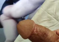 'Трибьют спермы для TheBootieBandit от сексуальной верхней спермы на мою задницу'