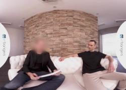 ВРБ Gay Трэвис получает свой первый Audition порно сцены Vr порно