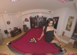 VRBangers ком Sexy Latina Get Fucked Hard On The Pool Table VR Porn